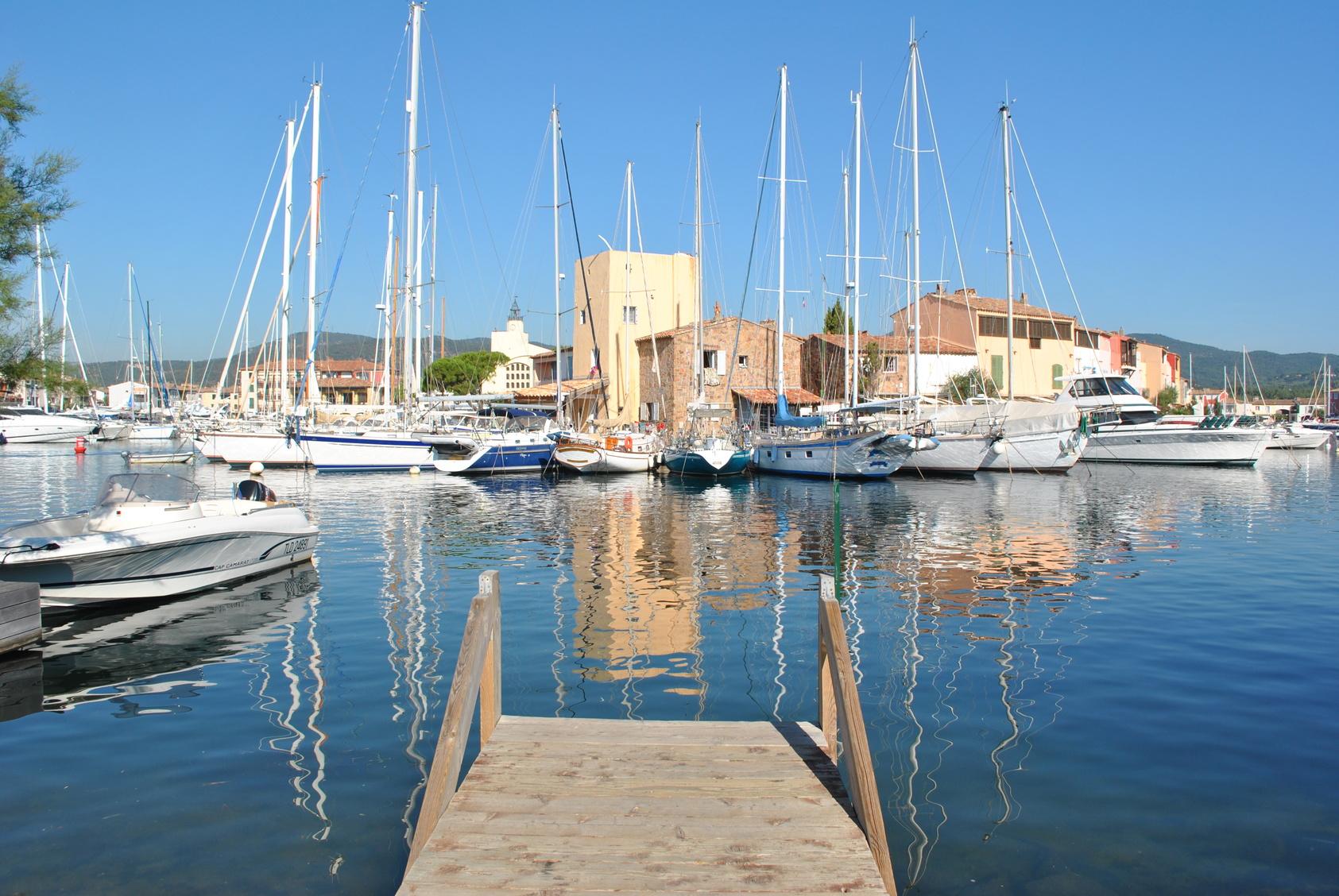 vacances à Port-Grimaud