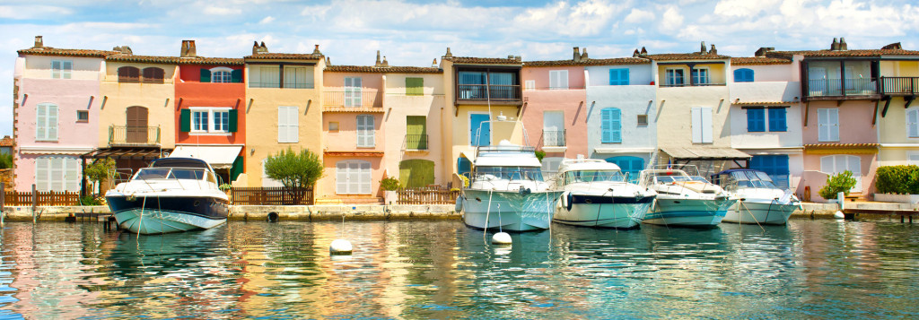 Fishermen Houses in Port Grimaud