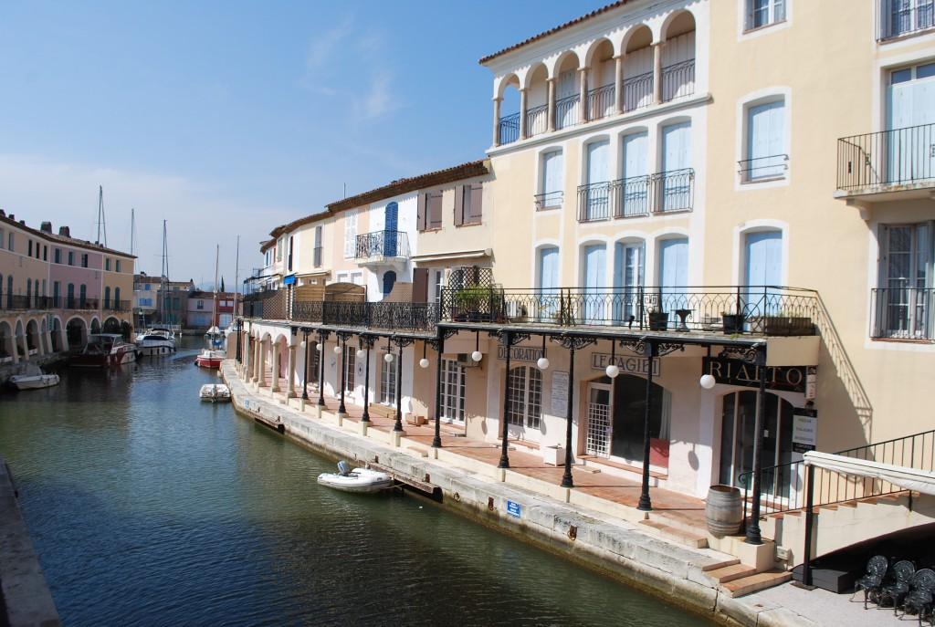 Canaux de Port Grimaud