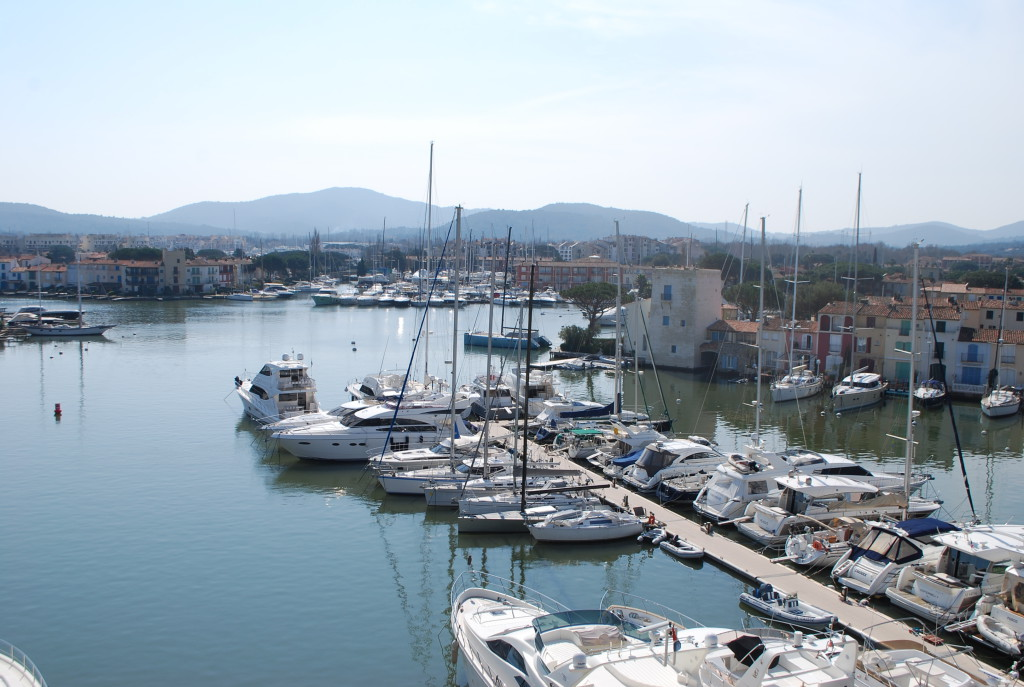 luxury boats in Port Grimaud