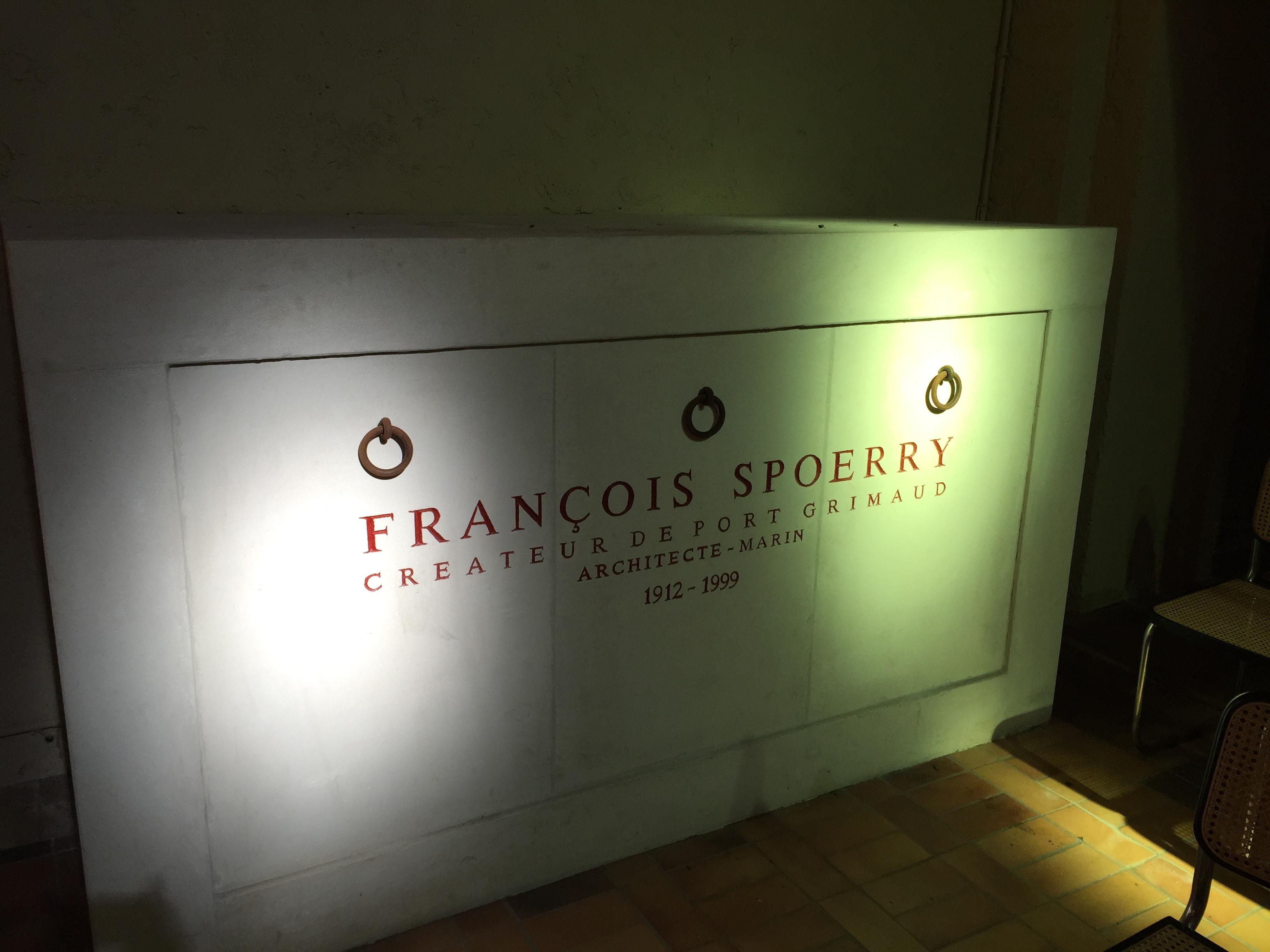 françois spoerry's vault