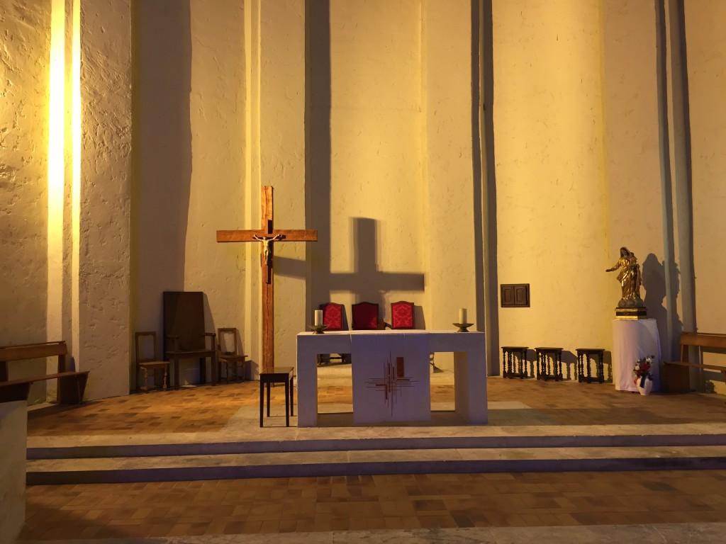Autel de l'église Saint-François d'Assise