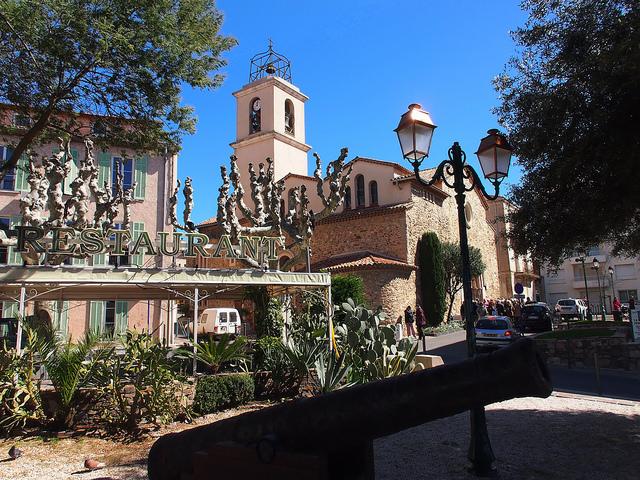 Sainte-Maxime French village