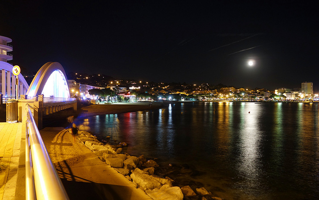 Sainte-Maxime-by-night