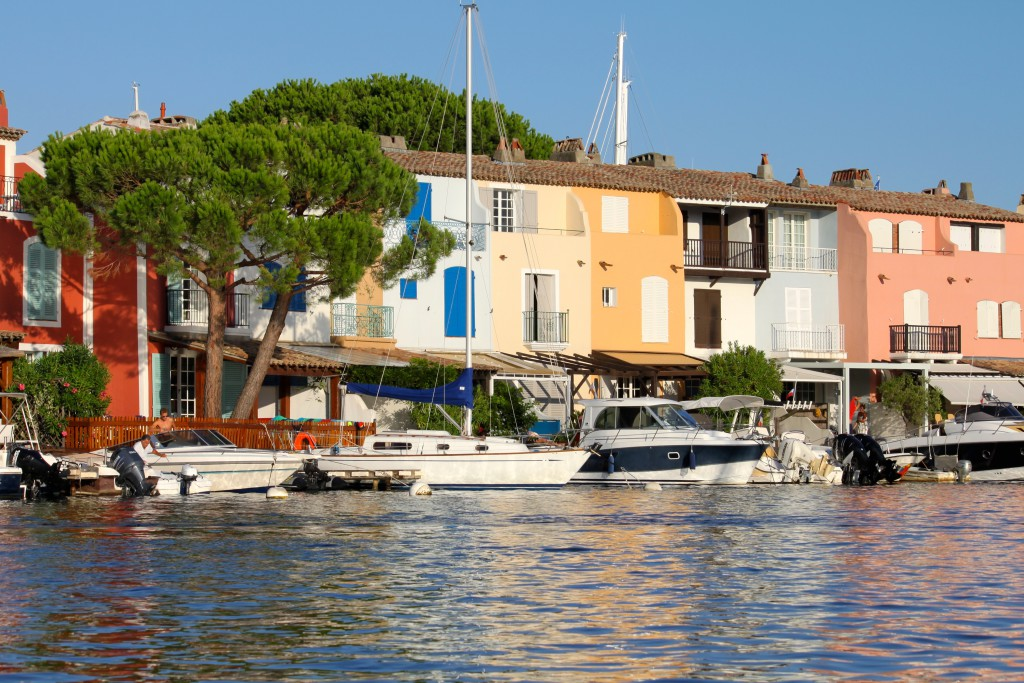 Port-Grimaud-grachten