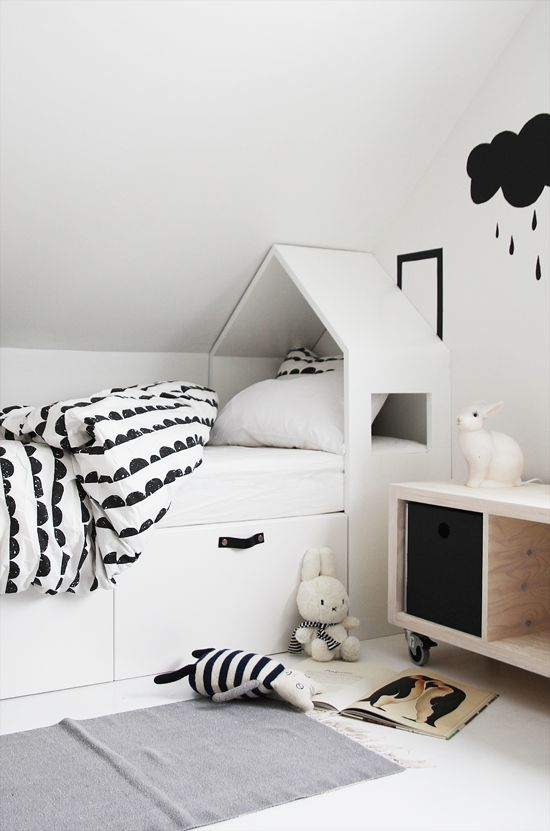 bed with built in storage