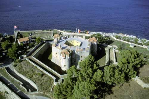 Die Zitadelle von Saint-Tropez