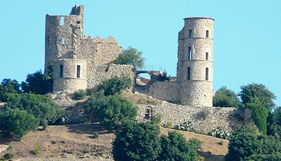 Die Burg von Grimaud