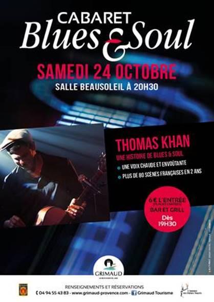 Thomas Kahn en concert à Grimaud le 24 octobre 2015