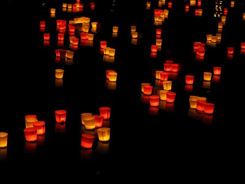 De viering van licht