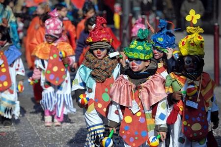 Carnaval des enfants à Grimaud