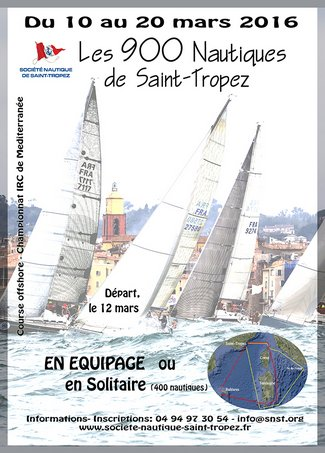 900 nautical mile race around Saint-Tropez