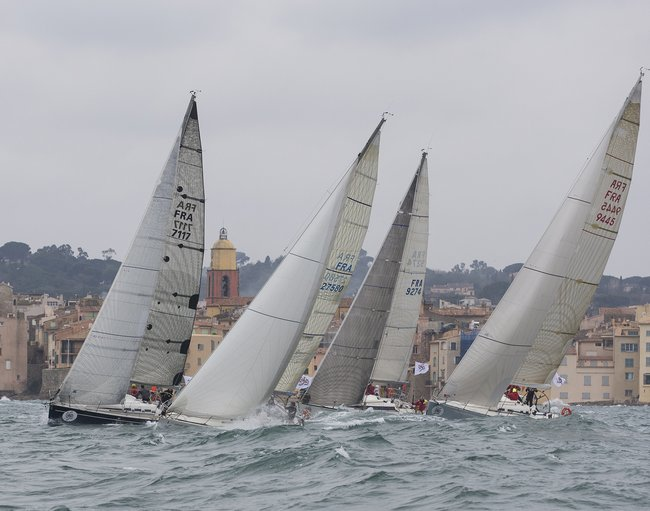 Sailing race in Saint-Tropez, March 2016