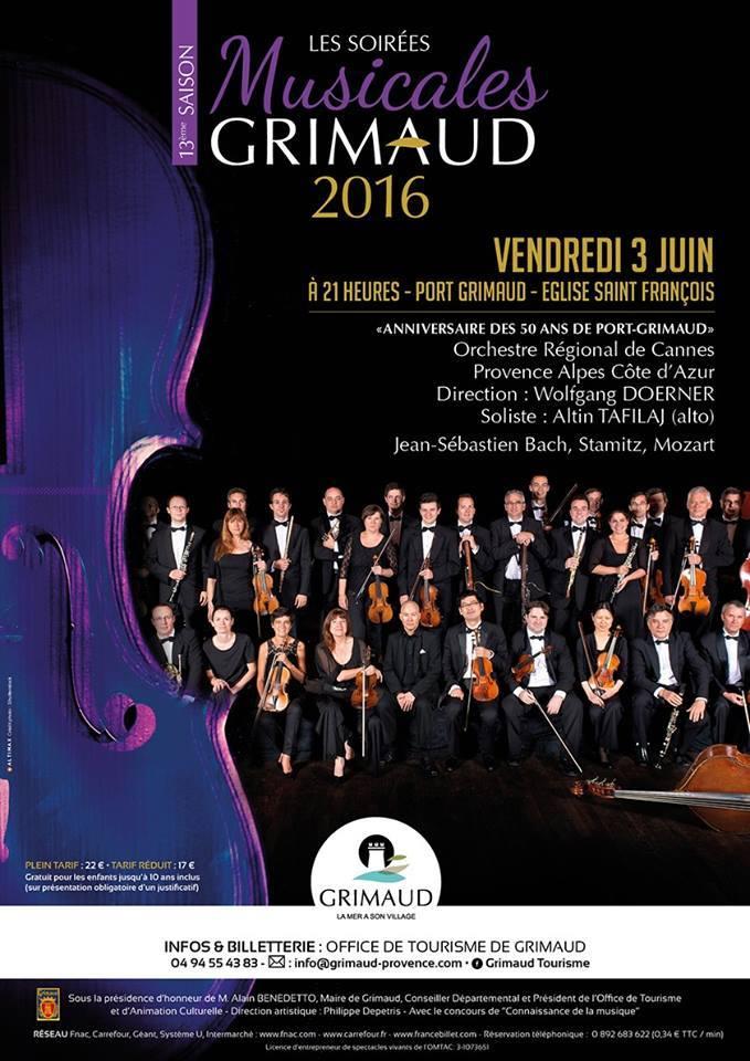 Dernières soirées musicales de Grimaud 2016