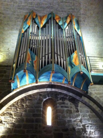 Orgue de l'Eglise Saint-Michel à Grimaud