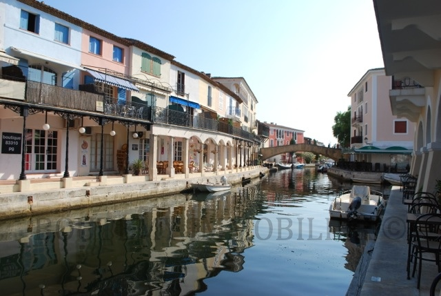 "Port Grimaud is named ""the French Venice"" for its beautiful canals"