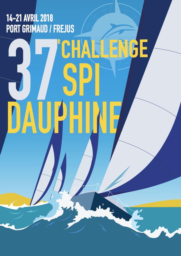 Dernière ligne droite pour le Challenge SPI Dauphine, qui fera étape du 14  au 21 avril 2018 sur Port Grimaud et Port Fréjus. Pour sa 37ème édition, ...
