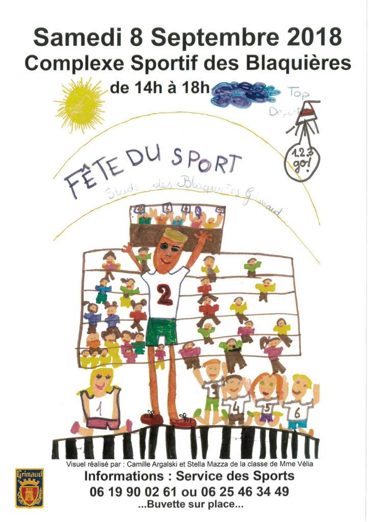 Fête du sport 2018 à Grimaud