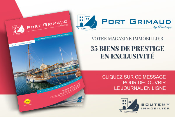 real estate magazine in Port Grimaud