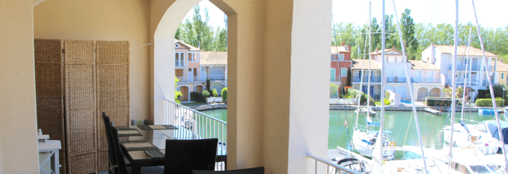 flat with air conditioning in Port Grimaud