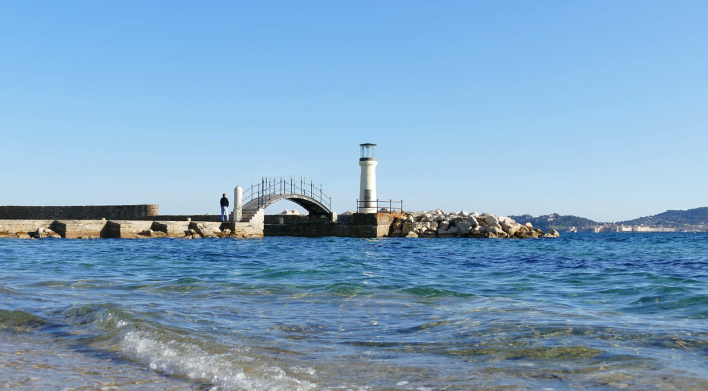 Beaches of Port Grimaud