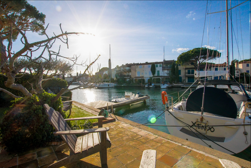Double house with 2 moorings Port Grimaud